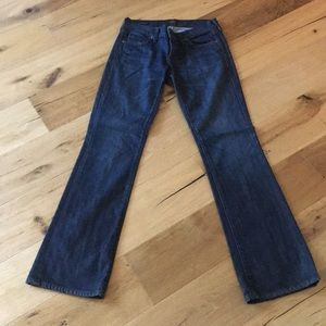 Citizens of Humanity dark bootcut jeans